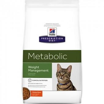 Hill's 1,5кг Prescription Diet Metab для улучшения метаболизма (коррекции веса) у кошек