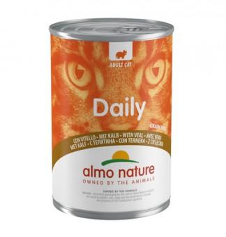 Almo Nature 400г Daily Menu Veal Консервы для кошек Меню с Телятиной