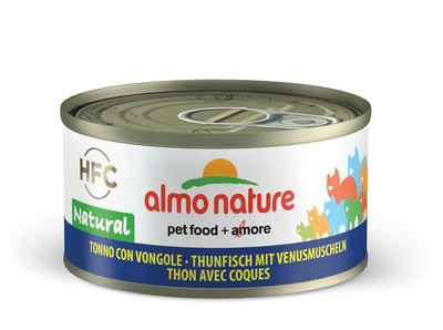 Almo Nature 70гр с тунцом и моллюсками консервы для кошек Legend Adult CatTuna&Clams