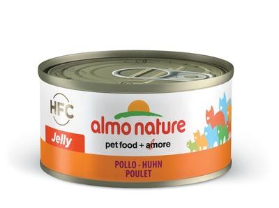 6шт Almo Nature 70гр. консервы для кошек Курица в желе, Legend HFC Adult Cat Imperial Chicken