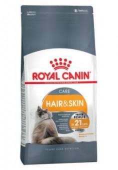 Royal canin 0,4кг Hair skin Сухой корм для кошек от 1 до 10 лет с проблемной шерстью и чувствительной кожей