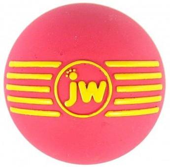 JW iSqueak Ball Мяч с пищалкой для собак, каучук, средний