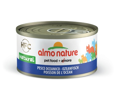 6шт Almo Nature 70гр с океанической рыбой консервы для кошек Legend Adult Cat Oceanic Fish