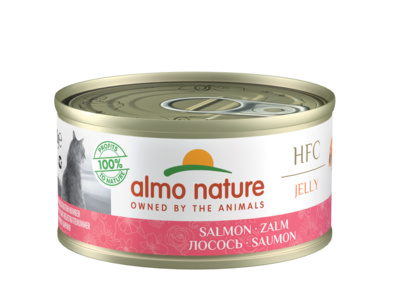 Almo Nature 70гр с лососем консервы для кошек Legend Adult Cat Salmon