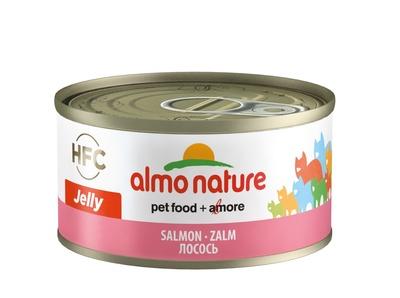 6шт Almo Nature 70гр с лососем консервы для кошек Legend Adult Cat Salmon