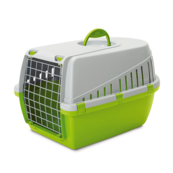 Savic Trotter 2 56х33х33см Пластиковая переноска для небольших животных, светло-зелёная