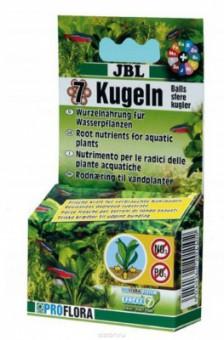JBL The 7 + 13 Balls - Корневое удобрение для аквариумных растений, 7 шариков