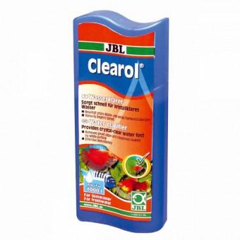 JBL Clearol - Кондиционер против помутнения воды в пресноводном аквариуме, 500мл на 2000л