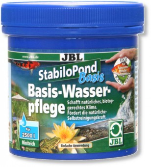 JBL StabiloPond Basis - Препарат для стабилизации парам. воды в садовых прудах, 5 кг на 50000 л