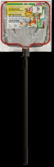 JBL pond fish net S coarse - Прудовый сачок, грубая сетка, 40х35 см, с телескопической ручкой 160 см
