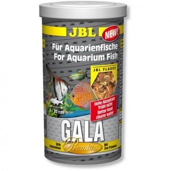 JBL Gala - Основной корм премиум для пресноводных аквариумных рыб, хлопья, 1 л (160 г)