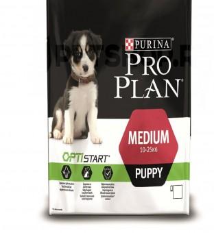 Pro Plan 12кг Puppy Для щенков всех пород с курицей