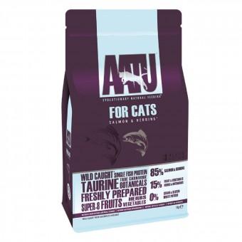 AATU CAT SALMON & HERRING 3 кг Корм для взрослых кошек Лосось и Сельдь