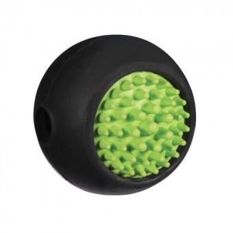 JW Grass Ball Мячик с ежиком для собак, каучук, средний