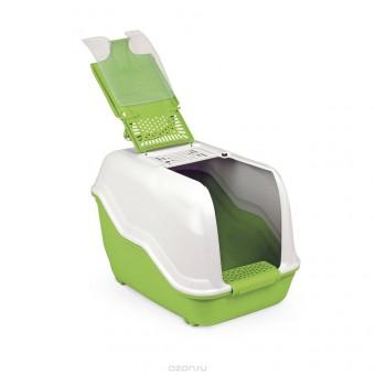 MPS био-туалет NETTA 54х39х40h см с совком салатовый