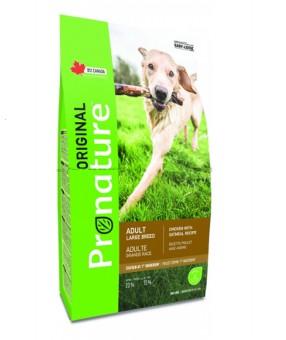 Pronature 15кг Original для собак крупных пород, курица