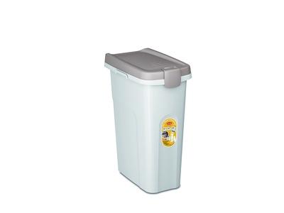 Stefanplast контейнер для корма, белый со светло-коричневой крышкой, 15л