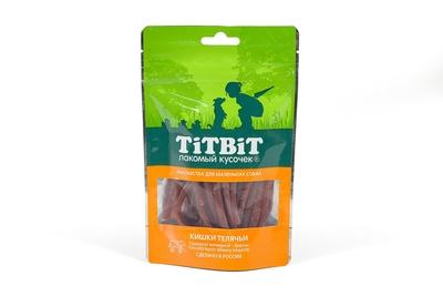 TiTBiT 50 г Кишки телячьи для собак мини пород