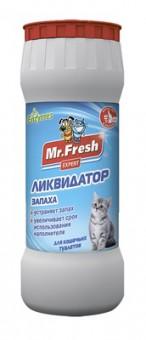 Mr.Fresh ликвидатор запахов 2в1 для кошачьих туалетов, 500мл