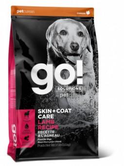 Go! Natural 11,3кг SKIN + COAT Lamb Meal Recipe DF для щенков и собак со свежим Ягненком