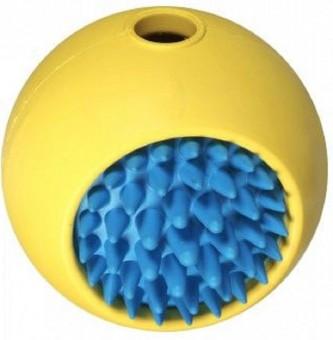 JW Grass Ball Мячик с ежиком для собак, каучук, маленький