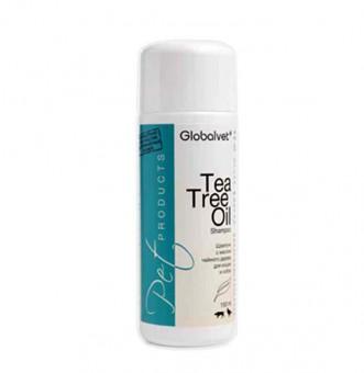 Globalvet 150мл Шампунь с маслом чайного дерева для кошек и собак Tea Tree Oil shampoo Care