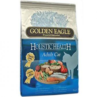 Golden Eagle Holistic 0,4кг Adult cat formula 32/21 chicken salmon Сухой корм для взрослых кошек курица лосось