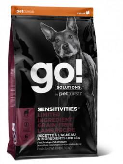 Go! Solutions Dog 9.98 кг Sensitivity + Shine LID Lamb Dog Recipe, Grain Free, Potato Free беззерновой для щенков и собак, с ягненком для чувствительного пищеварения