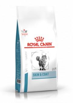 Royal Canin Skin and Coat 400г сухорй корм для кошек при дерматозах и выпадении шерсти