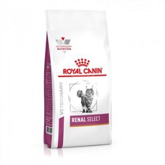 Royal Canin Renal Select 2кг сухой корм ля кошек с пониженным аппетитом при хронической почечной недостаточности, крокета двойной текстуры