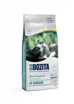 Bozita 10кг Sensitive Diet & Stomach Grain Free 34/10 Сухой корм для кошек с чувствительным пищеварением, избыточным весом и для кошек старше 7 лет, беззерновой с мясом лося