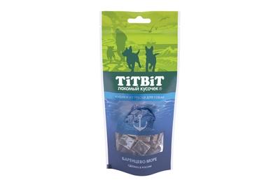TiTBiT 75г Кубики из трески