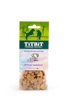 TiTBiT 70г лакомство для щенков Творожное печенье