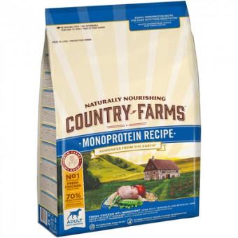 Country Farms 2,5кг монопротеиновый корм для щенков, с высоким содержанием лосося