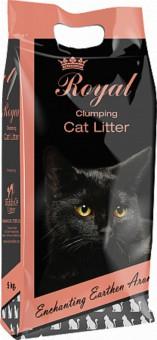 Indian Cat Litter Royal Earthern Aroma наполнитель 5 кг