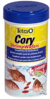 TetraCory Shrimp Wafers 100 мл корм-пластинки с добавлением креветок для сомиков-коридорасов
