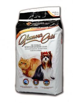 GlamourCats 60x90см 10шт Гелевые пеленки   для животных