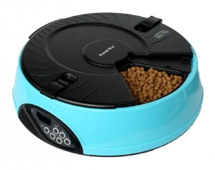 Feed ex Автоматическая кормушка на 6 кормлений для кошек и собак с ЖК дисплеем для любого вида корма.