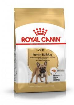 Royal Canin 9кг French bulldog 26 adult Для собак породы французский бульдог старше 12 месяцев