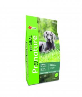 Pronature 20кг Original NEW для пожилых собак всех пород, курица