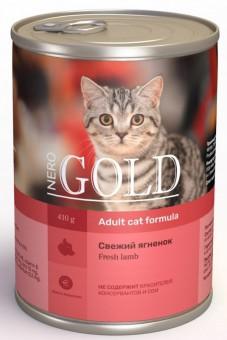 Nero Gold 0,41кг Lamb консервы, Свежий ягненок