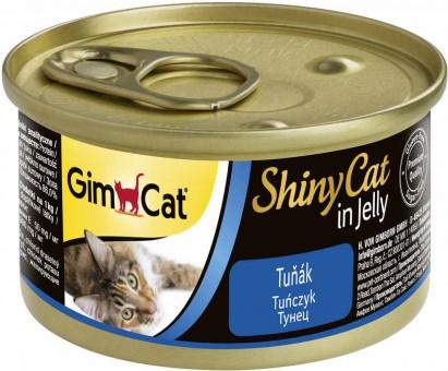 GimCat ShinyCat 70г консервы для кошек из тунца