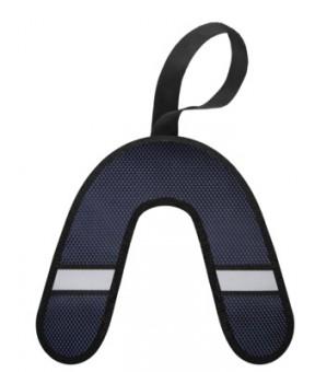 Tappi Кликфлип игрушка для собак, синий бумеранг со светоотражающей полоской