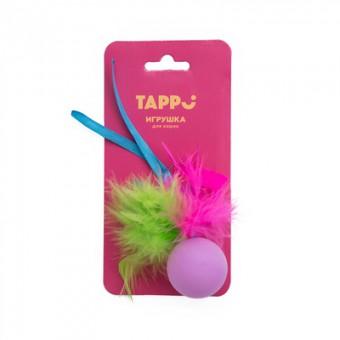 Tappi Нолли, мяч с хвостом из пера марабу и лент