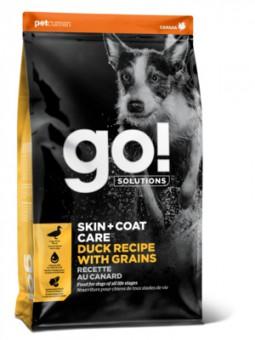 Go Natural 1,59кг Duck Dog Recipe 22/12 сухой корм для щенков и собак с цельной уткой и овсянкой