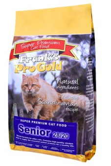 Frank's ProGold Senior 28/20 3 кг Для пожилых кошек