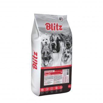 Blitz Adult beef and rice 15кг Сухой корм для взрослых собак с говядиной и рисом