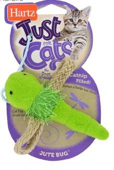 Hartz Игрушка для кошек - стрекоза, мягкая  JFC Jute Bugs Cat Toy