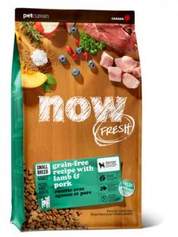 Now Fresh 11,34кг Dog Grain Free Adult Small Breed Grain Free Lamb & Porc Беззерновой сухой корм для собак мини пород с ягненком и свининой