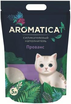 Aromaticat 5л Силикагелевый гигиенический наполнитель Прованс